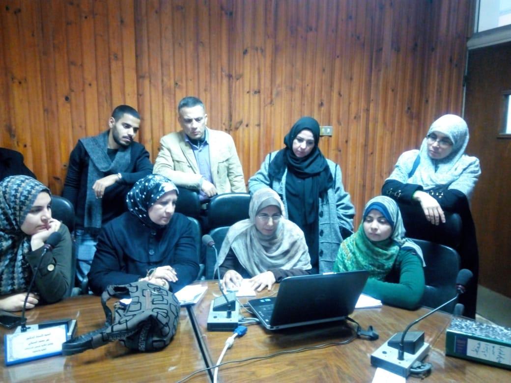 تم فيى يوم 22 ديسمبر 2019 عقد ورشة عمل لاستخدام قاعدة البيانات لطلاب برنامج اللغة الفارسية