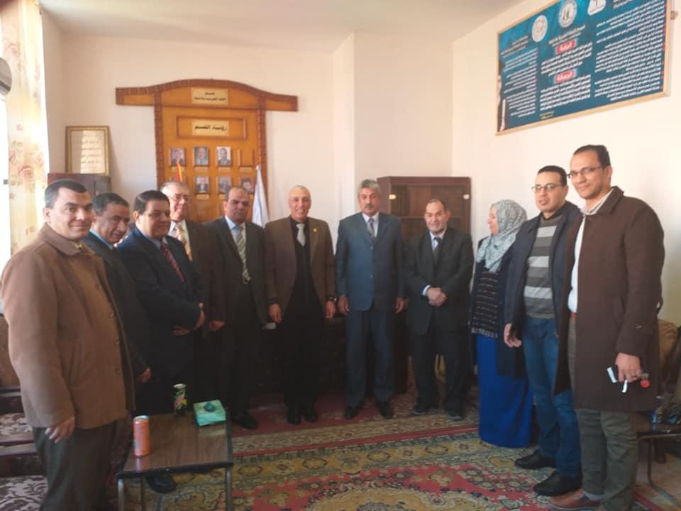 مجلس قسم اللغة العربية