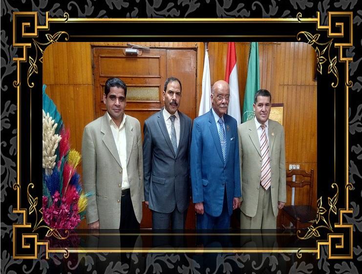 بزيارة غالية وكريمة من  اللواء أركان حرب الدكتور / محمد عمر