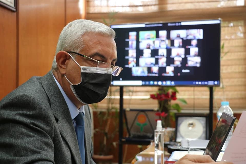 مبارك يتابع الاستعدادات لامتحانات الفصل الدراسي الأول ويطرح مسابقة لوضع شعار جامعة المنوفية الأهلية وجائزة مالية 5000 جنيه