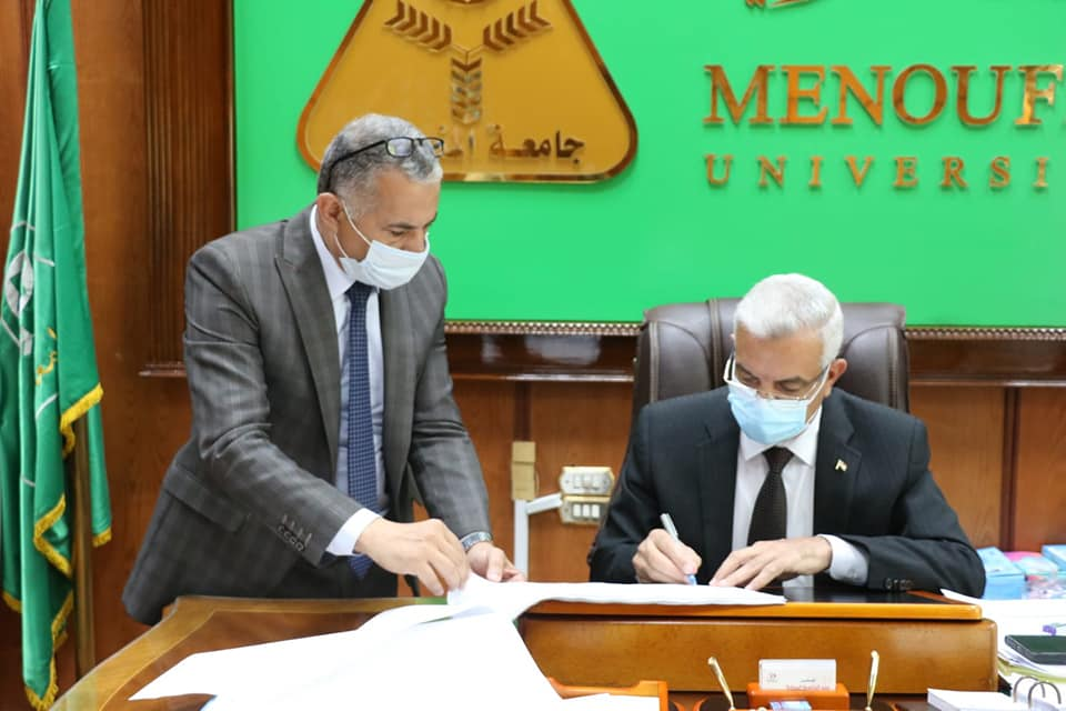 The President of Menoufia University approves the cumulative result of home economics, the role of June 2021