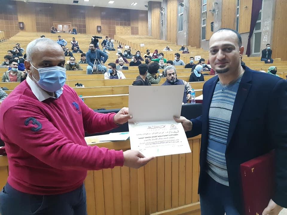 لجنة التحكيم تشيد بالعرض المسرحي بجامعة المنوفية