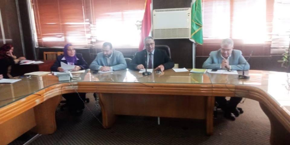 إجتماع مجلس إدارة وحدة التدريب و التعليم الطبي المستمر بمستشفيات جامعة المنوفية