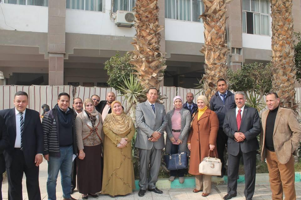 لنوعية تعرب عن تقديرها لصاحب المعالي رئيس جامعة المنوفية