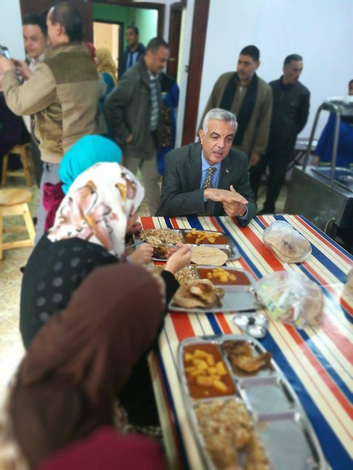 مدينة الطالبات الجامعية باشمون تستقبل نائب رئيس الجامعة للتعليم والطلاب