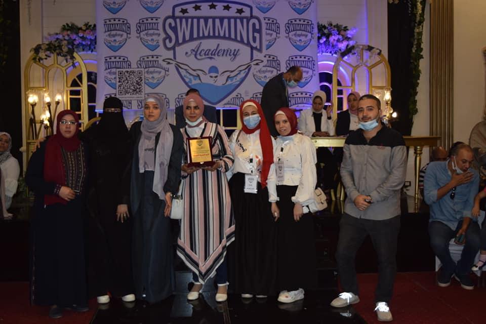 النوعية تشارك في حفل مؤسسة swimming academy بأشمون لتكريم المتميزين رياضيا....