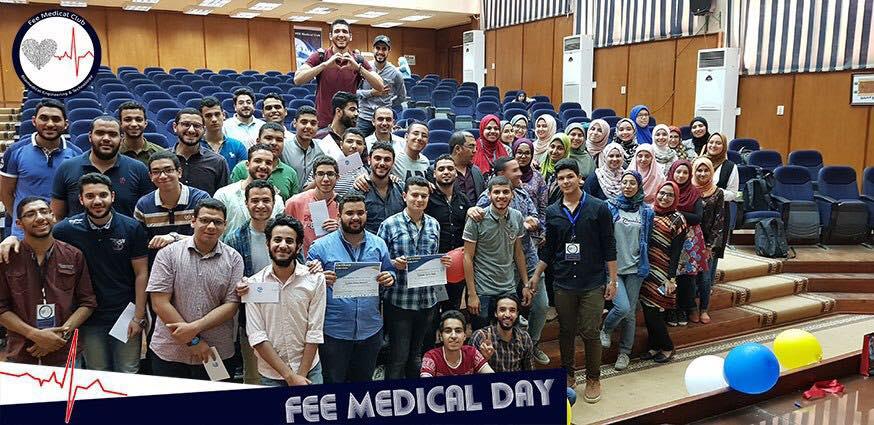 فاعليات معرض مشاريع الهندسة الطبية على مستوى الكلية
