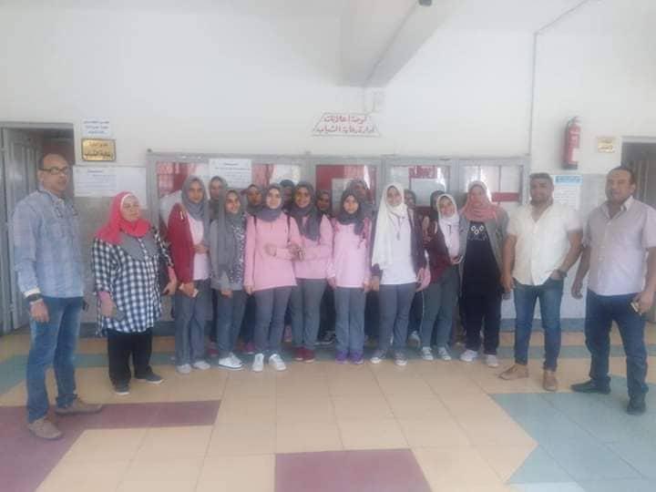 زيارة مدرسة نصرعبد الغفورالثانوية بنات