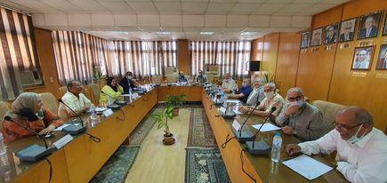مجلس قسم هندسة الإلكترونيات والإتصالات الكهربية يعقد جلسته لشهر يونيو