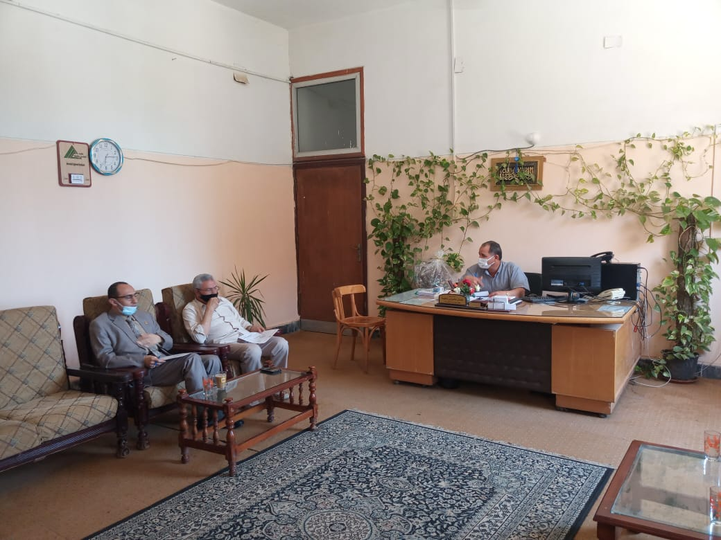 Council of Computer Department holds its meeting for the month of May