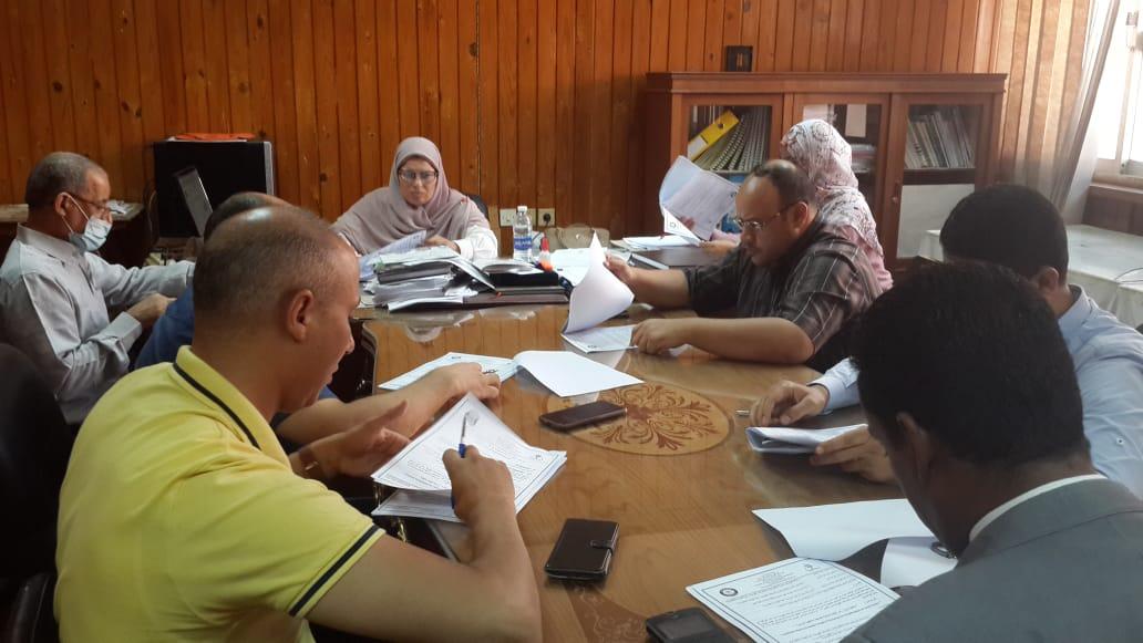 جتماع لجنة الدراسات العليا