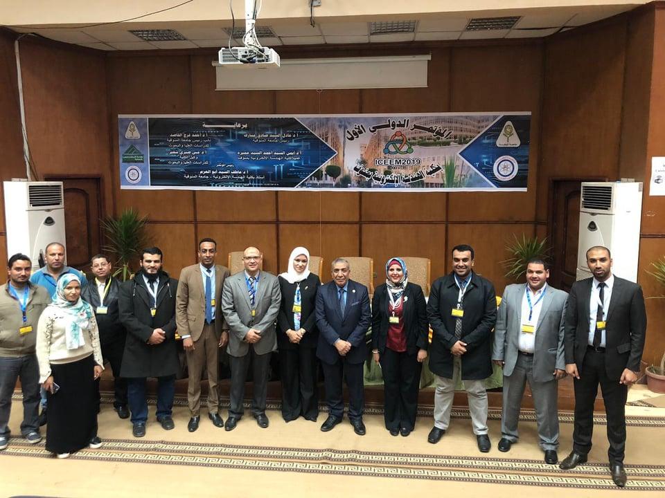 ختام فعاليات المؤتمر الدولي الأول للهندسة الإلكترونية