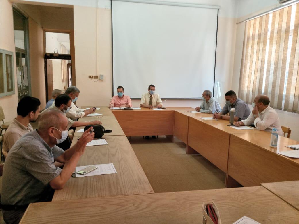 مجلس قسم هندسة الإلكترونيات الصناعية والتحكم يعقد جلسته لشهر يوليو
