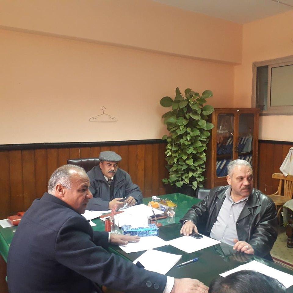 اجتماع لجنة السلامة والصحة المهنية فبراير