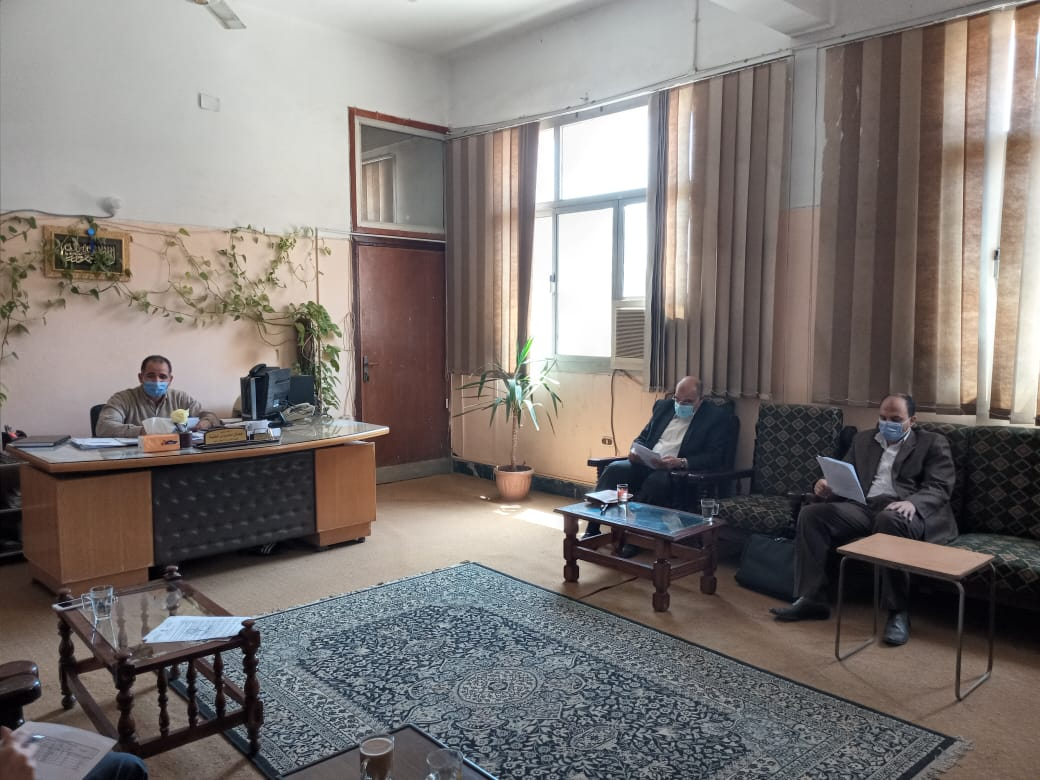 Department of Computers holds its meeting for the month of April