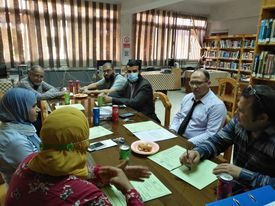 إجتماع لجنة المكتبات لشهر سبتمبر
