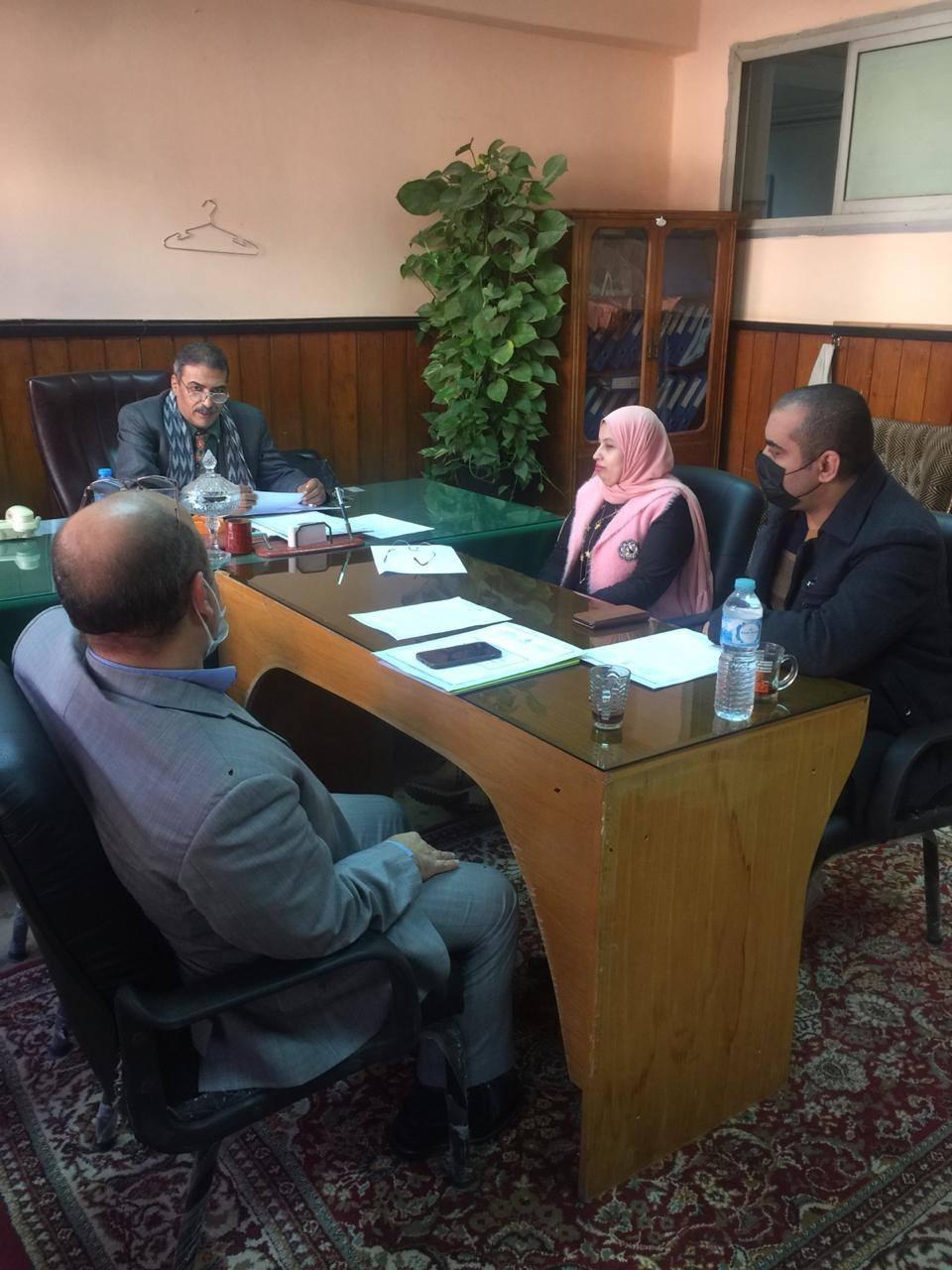 إجتماع لجنة البيئة لشهرنوفمبر