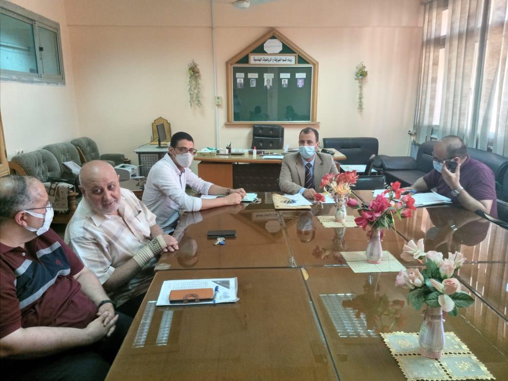 مجلس القسم العام يعقد جلسته لشهريوليو