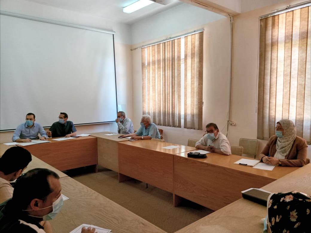 The Council of the Department of Industrial Electronics and Control Engineering holds its meeting for the month of May