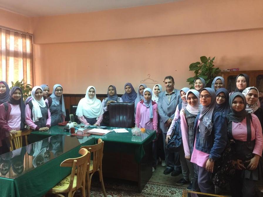 مدرسة نصر عبد الغفور الثانوية بنات تزوركلية الهندسة الإلكترونية