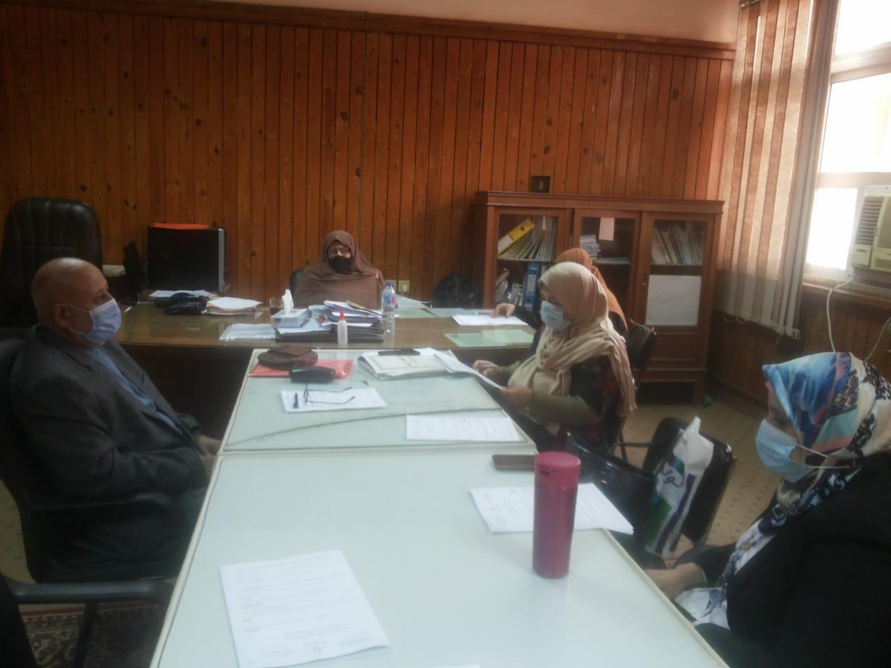 اجتماع لجنة العلاقات الثقافية لشهر مارس