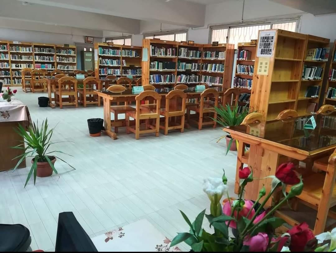 """Menouf Engineering, """"the best library at the level of Menoufia University."""""""