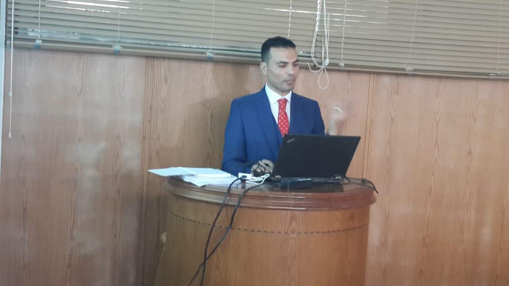 مناقشة رسالة الدكتوراه للمهندس/ الحسيني ابراهيم الحسيني