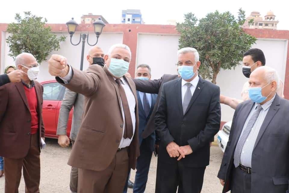 زيارة الاستاذ الدكتور / عادل مبارك رئيس الجامعة