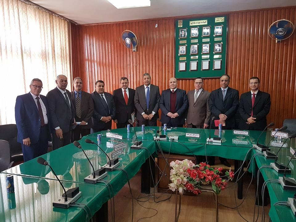 اجتماع مشترك بين نقابة المحاماة بالمنوفية والنقابة العامة بالقاهره