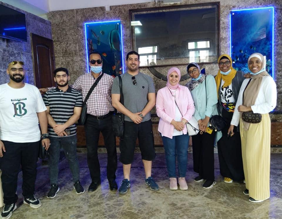 رحلة ترفيهية لطلاب جامعة المنوفية الوافدين