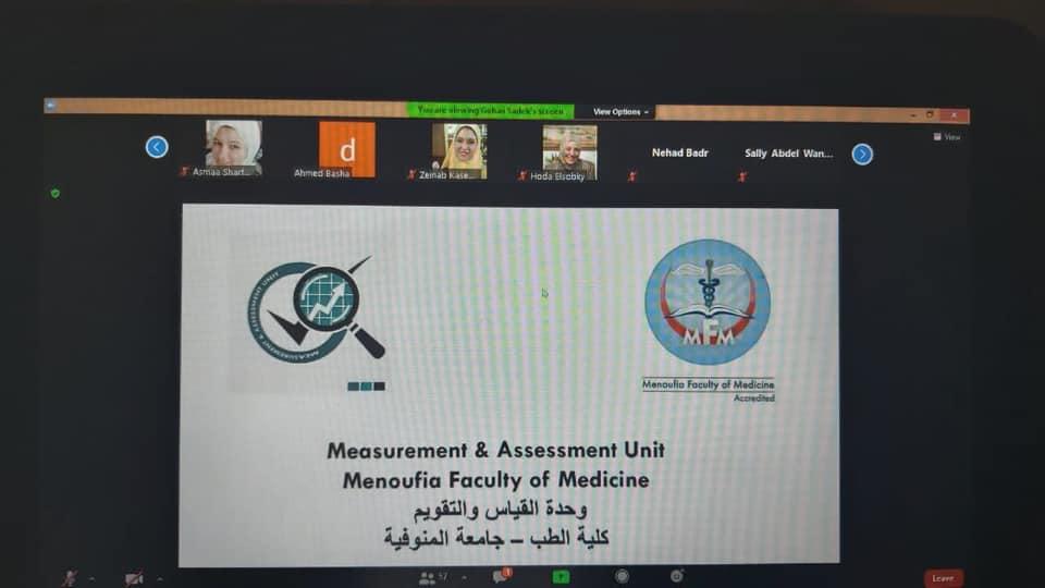 انتهاء فعاليات الورشة الثالثه من تدريب السادة اعضاء هيئة التدريس والهيئة المعاونه