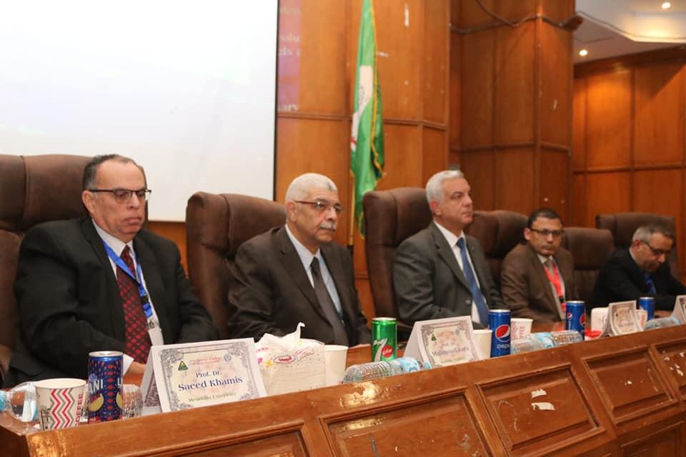رئيس جامعة المنوفية يفتتح فعاليات المؤتمر 21 لقسم الباطنة بكلية الطب