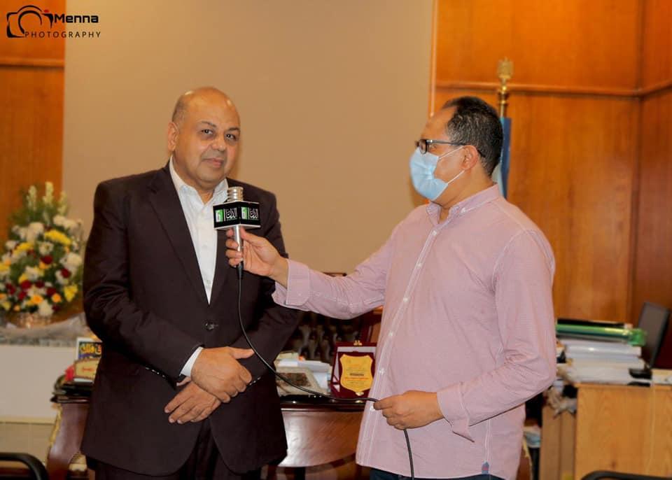 القناة السادسة فى قلب الحدث تغطية لاختبارات القدرات بكلية الإعلام جامعة المنوفية