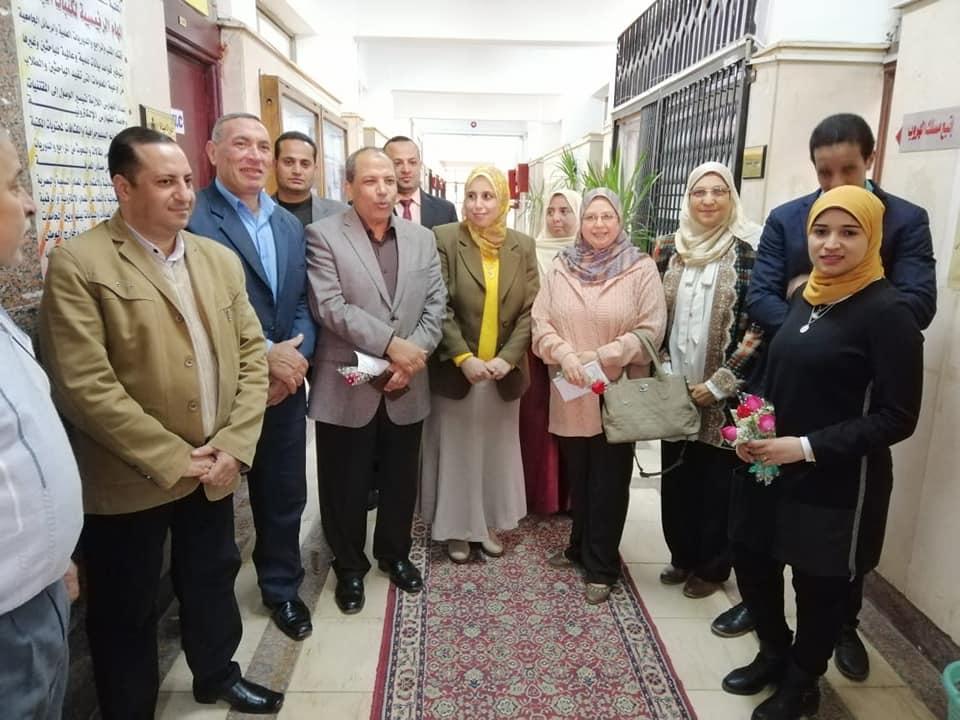 استقبال السادة أعضاء لجنة تقييم مكتبات الجامعة