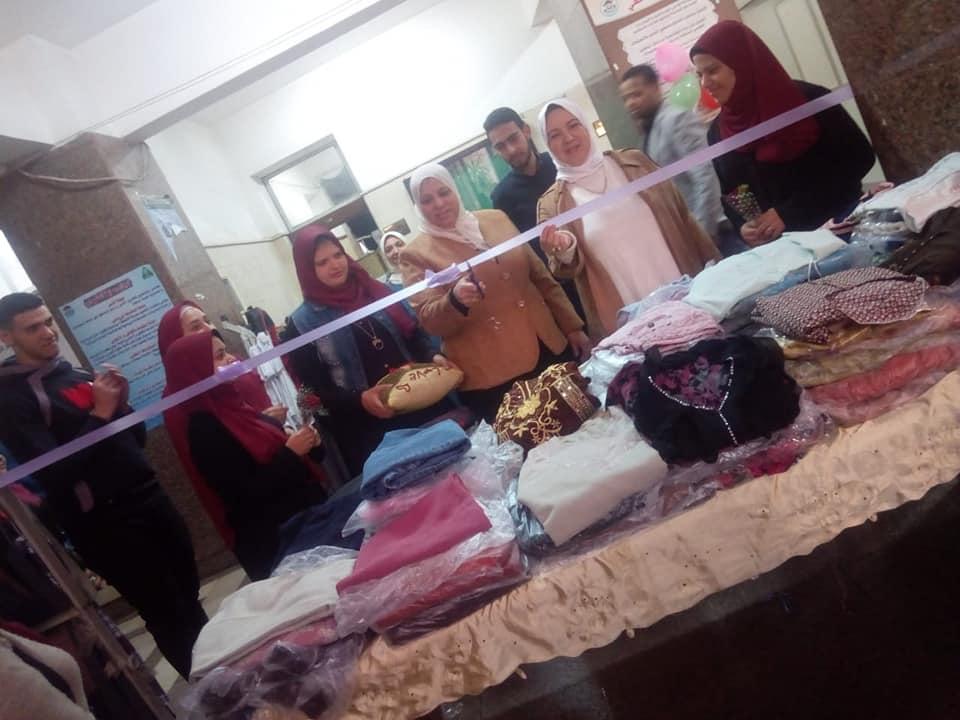 افتتاح المعرض الخيري الرابع للملابس للصيدلية الخيرية