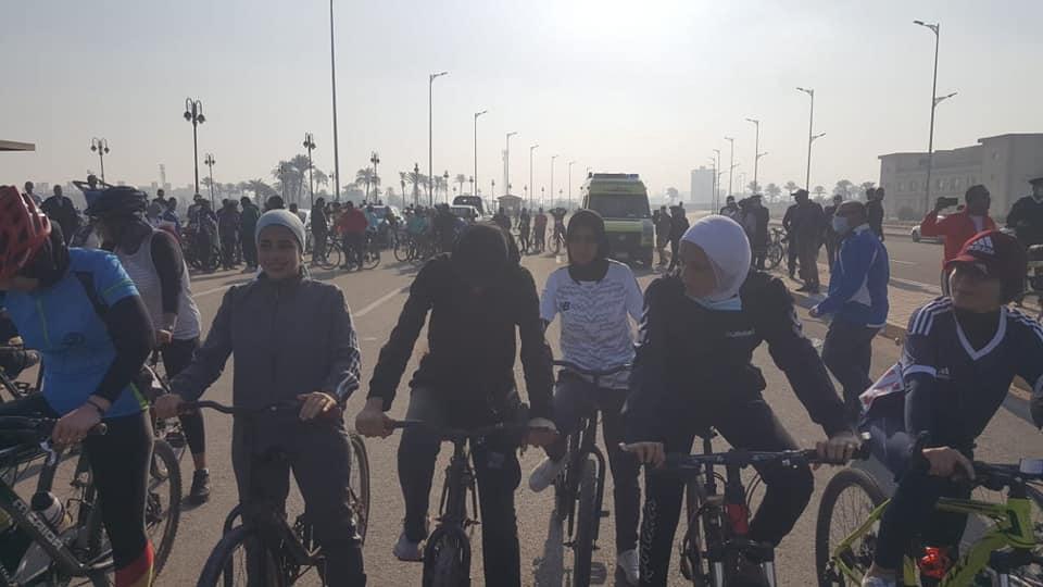 امعة المنوفية تحقق المركز الرابع في سباق الدراجات بدورة الجامعات المصرية