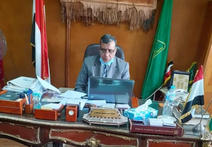 يتقدم قطاع شئون خدمة المجتمع وتنمية البيئة برئاسة الدكتور عبد الرحمن الباجوري بخالص التعازي