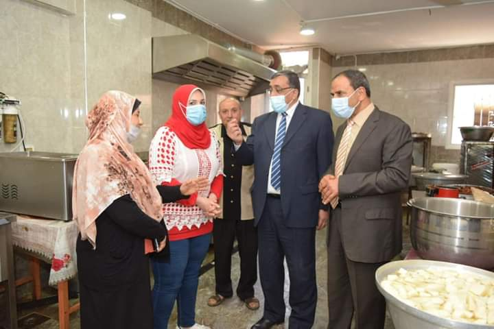 جامعة المنوفية تنظم زيارة لدار الأمل لرعاية الأيتام من ذوى الاحتياجات الخاصة