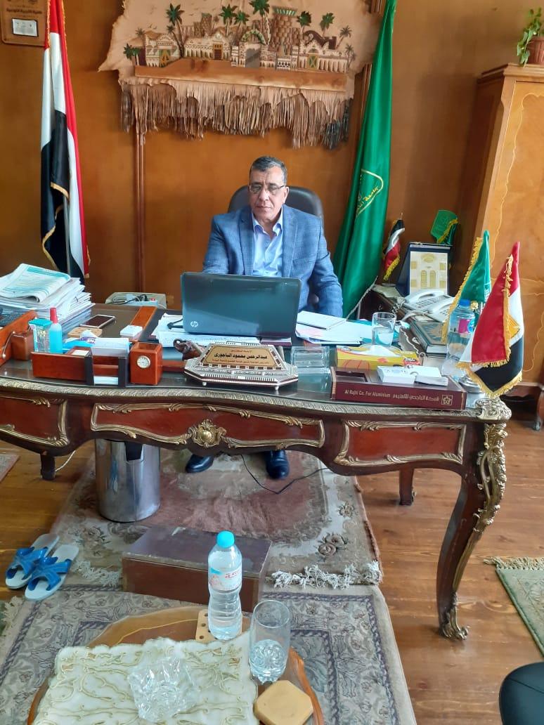 الباجوري يشارك  العديد من الموضوعات القومية في المجلس الاعلي لقطاع خدمة المجتمع