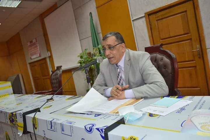 الباجوري يعقد الجلسة الثامنة لمجلس قطاع خدمة المجتمع وشئون البيئة