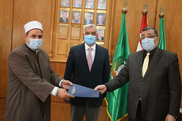 cooperation Protocol between Menoufia University and the Ministry of Endowments to train imams