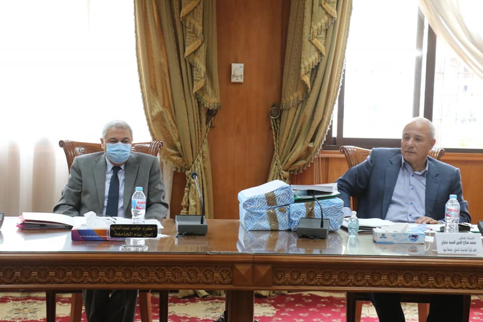 Conclusion of interviews of applicants for the positions of Director-General of the University of Menoufia