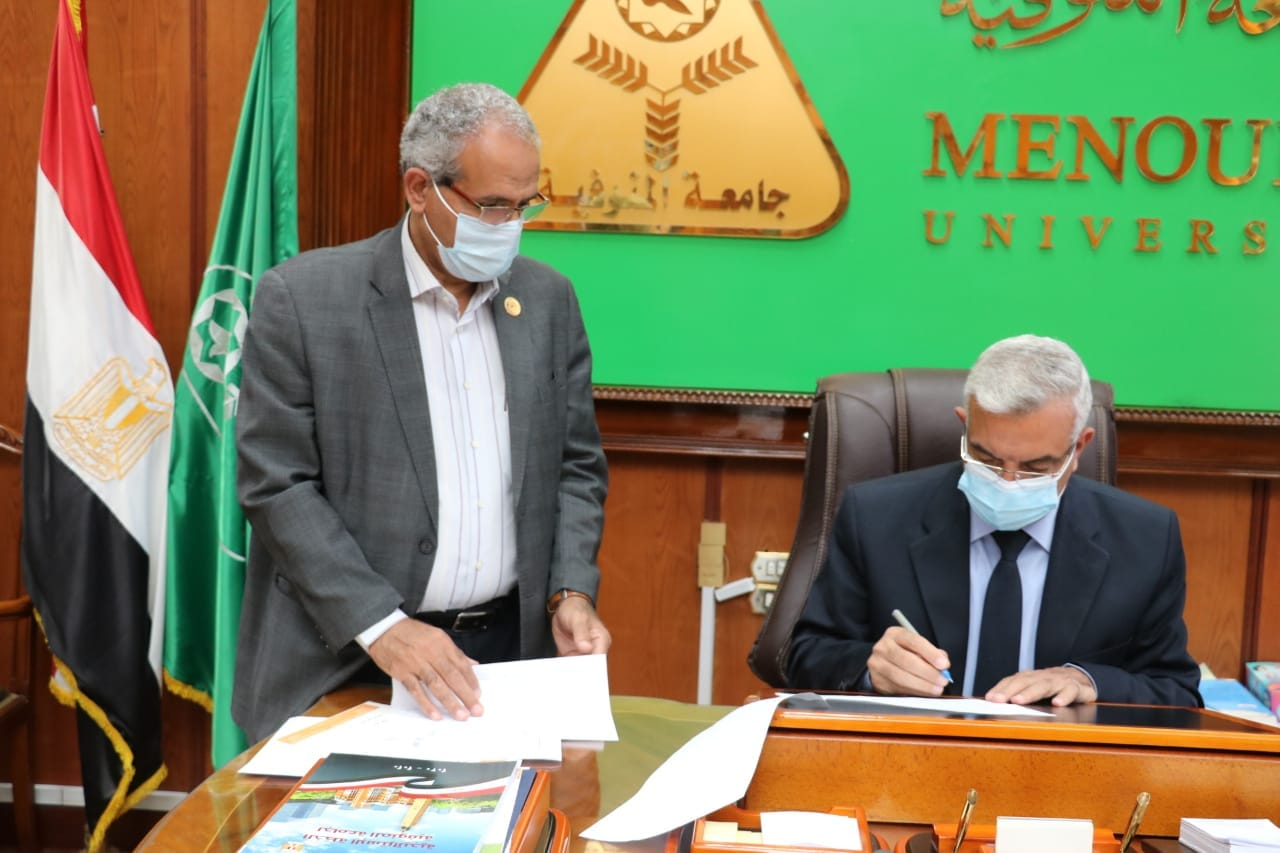 The Rector of the University of Menoufia adopts the cumulative result of the programmes of the Faculty of Engineering