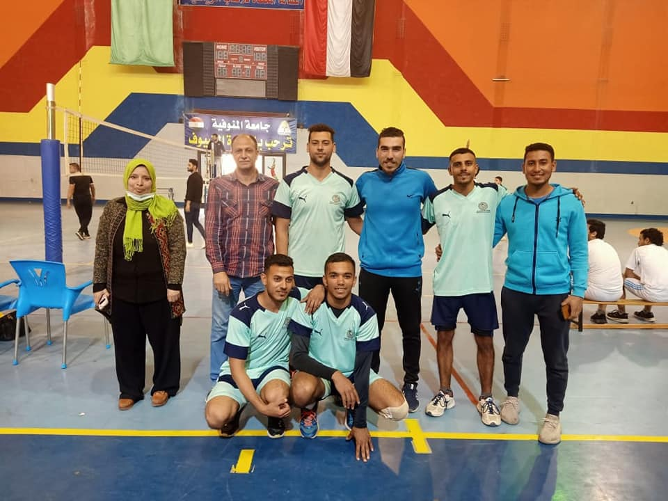 Arabesk wins first place at university level in volleyball