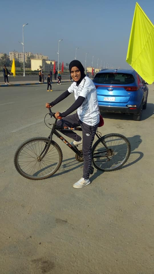 Monoufia University is ranked fourth in the Cycling race in the Egyptian universities' cycle