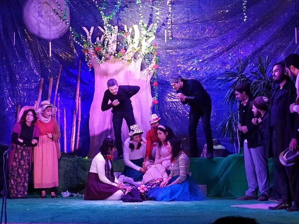 انترميتزو عرض مسرح جامعة المنوفية فى إبداع ٨