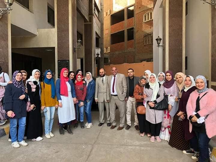 ختام أسبوع التبادل الطلابى بين كلية الصيدلة جامعة المنوفية والكليات المناظرة