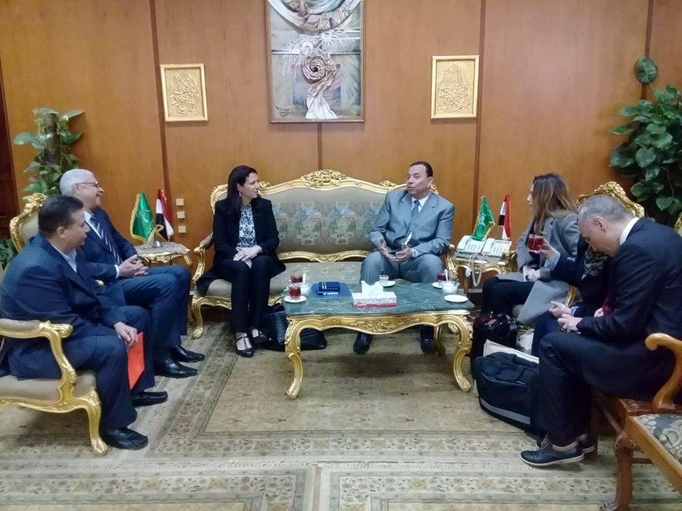 التبادل العلمى والثقافى بين الولايات المتحدة الأمريكية وجمهورية مصر العربية