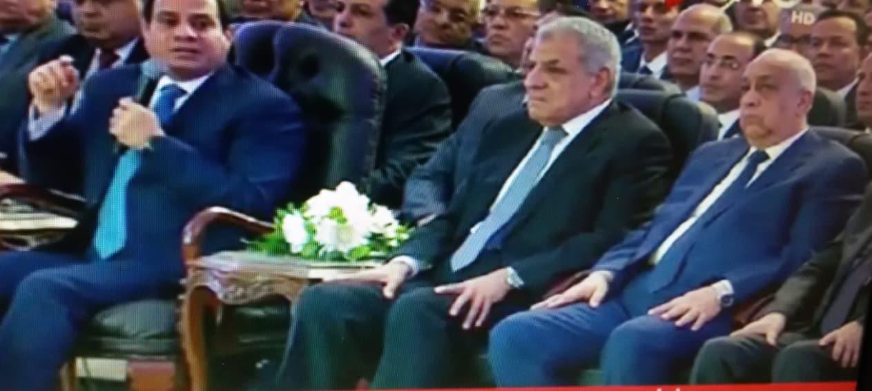 إفتتاح الرئيس السيسى لمشروعات قومية جديدة من مدينة السادات