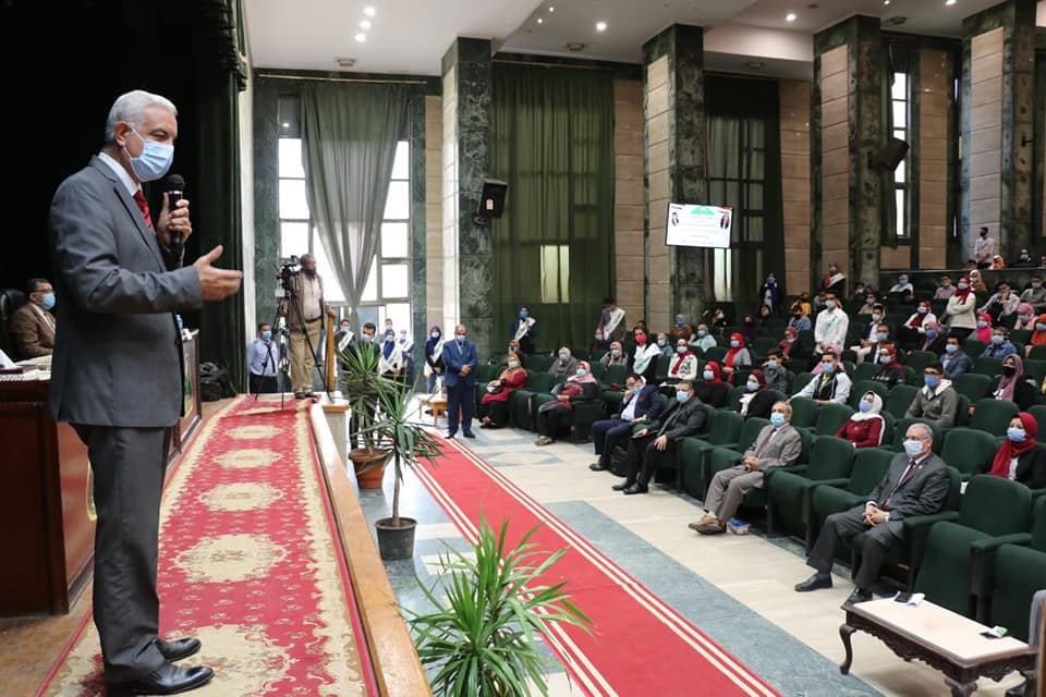Menoufia University President inaugurates a series of awareness and educational seminars for students